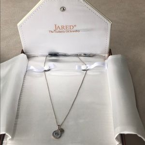 HEARTS of PANDORA STERLING SILVER NECKLACE